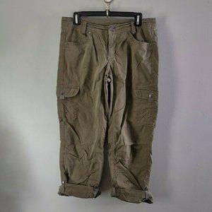 Kuhl Roll Cuff Convertible Hiking Pants Green